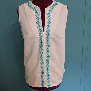 Vintage tunic blouse
